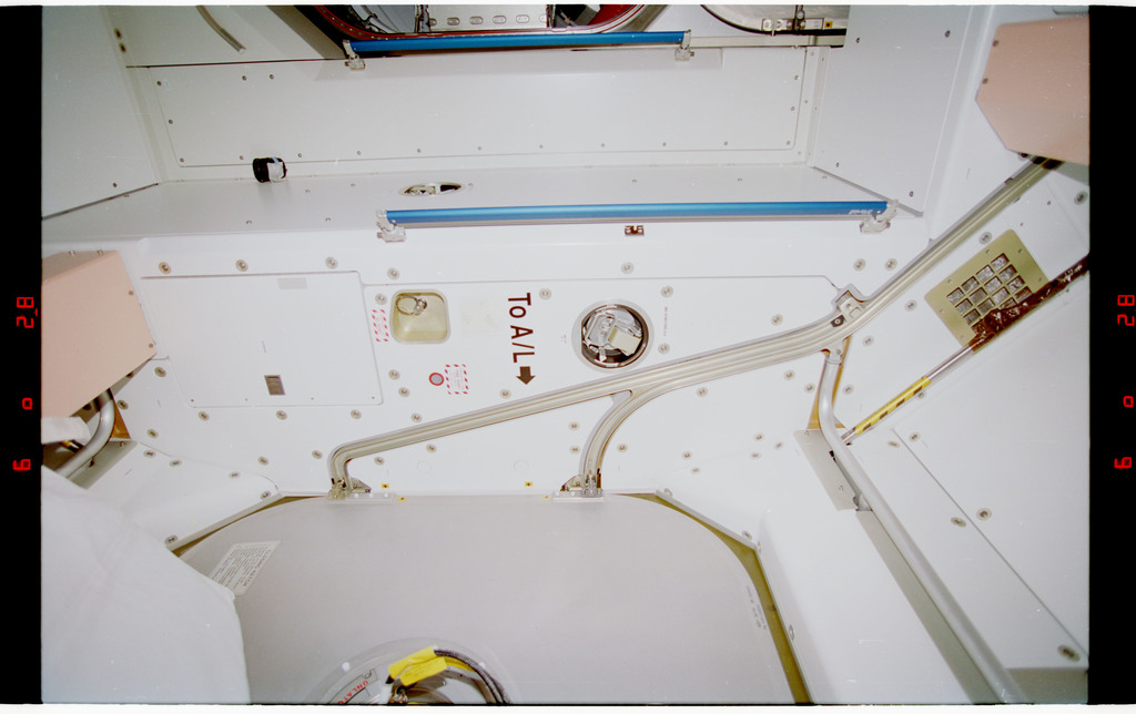 STS088-328-013 - STS-088 - View of the interior of the Node 1/Unity module