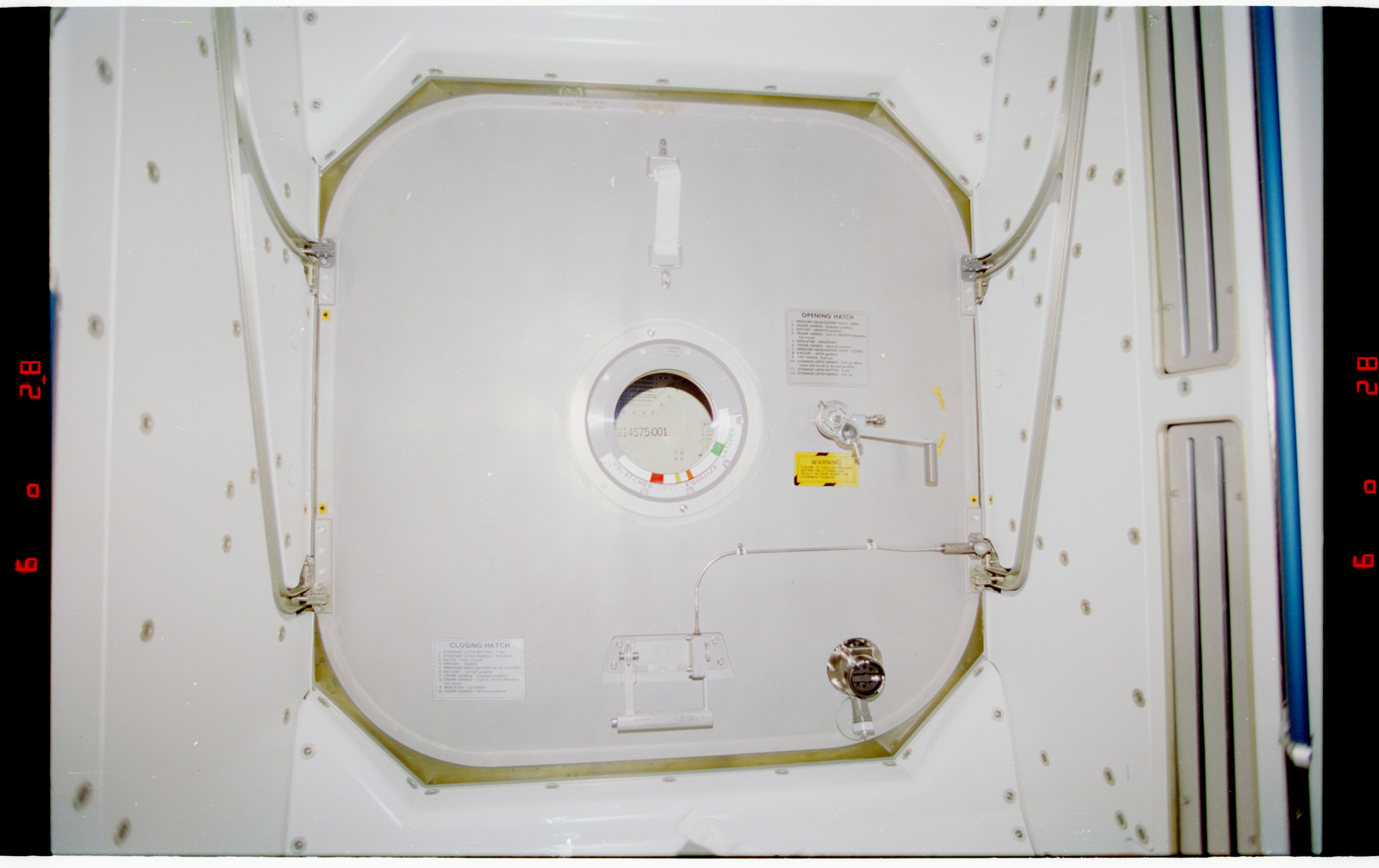 STS088-328-018 - STS-088 - View of the interior of the Node 1/Unity module