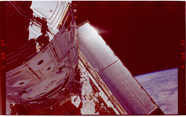 STS088-344-006 - STS-088 - View of the ISS stack taken during the third EVA