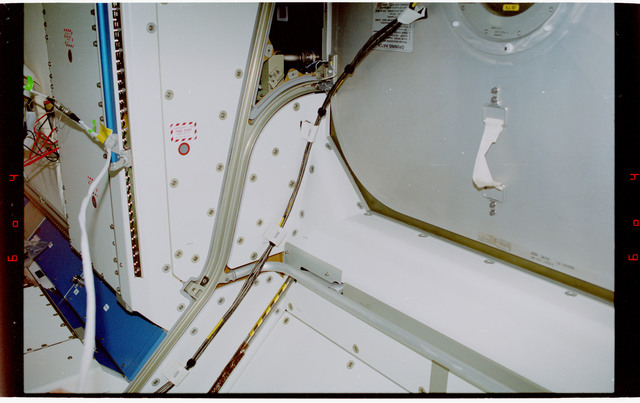 STS088-359-010 - STS-088 - View of the interior hardware of the Node 1/Unity module