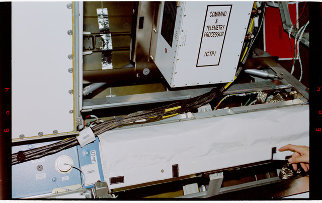 STS088-359-022 - STS-088 - View of the interior hardware of the Node 1/Unity module