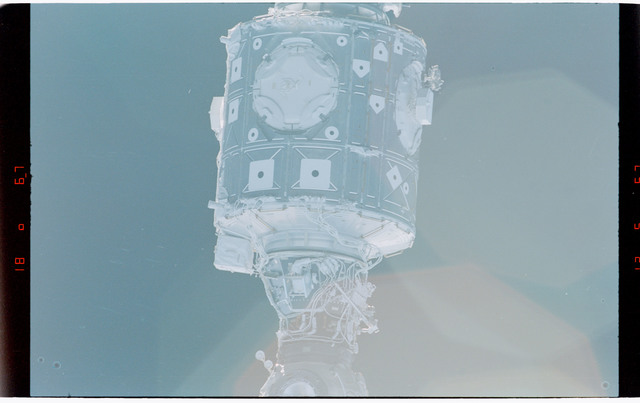 STS088-368-020 - STS-088 - Views of the free-flying ISS stack taken during fly-around by STS-88 mission