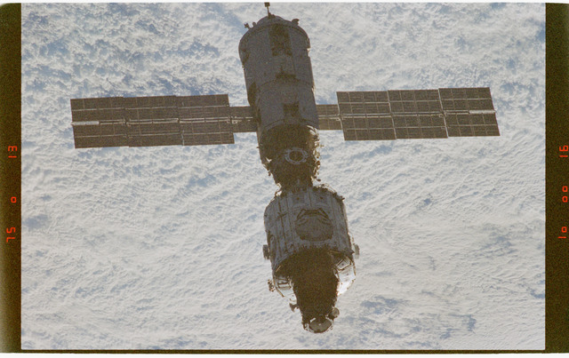 STS088-372-031 - STS-088 - Views of the ISS stack in orbit taken during STS-88 flyaround