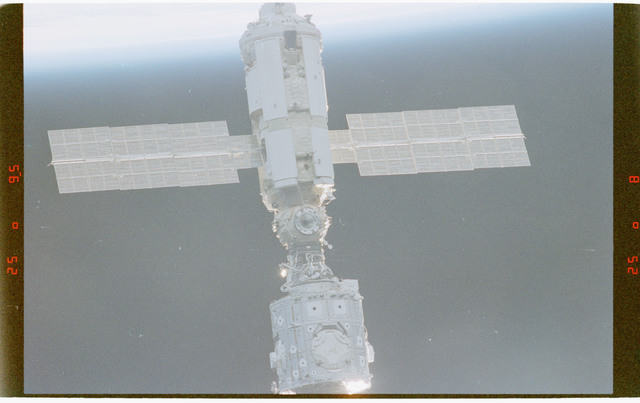 STS088-372-035 - STS-088 - Views of the ISS stack in orbit taken during STS-88 flyaround
