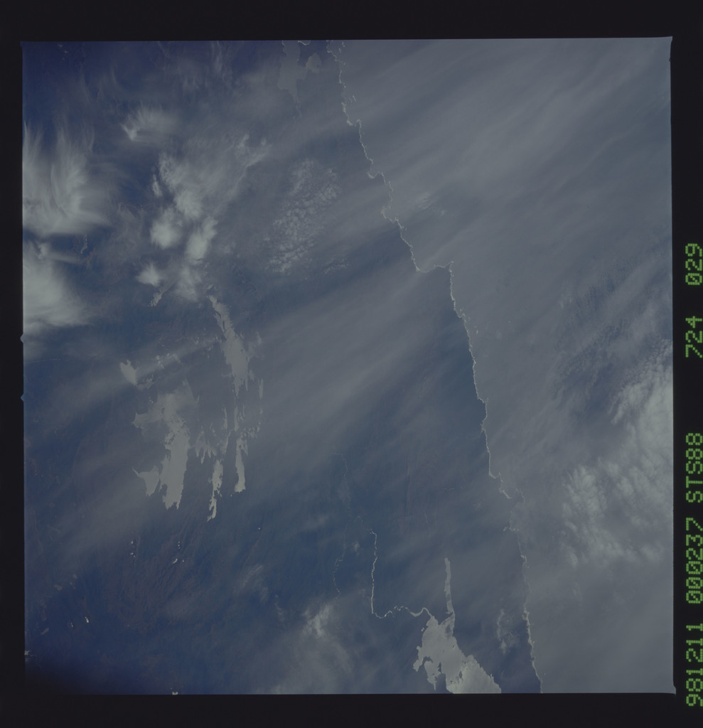 STS088-724-029 - STS-088 - Earth observation taken during the STS-88 mission
