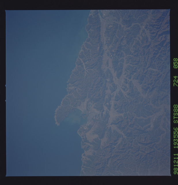 STS088-724-058 - STS-088 - Earth observation taken during the STS-88 mission