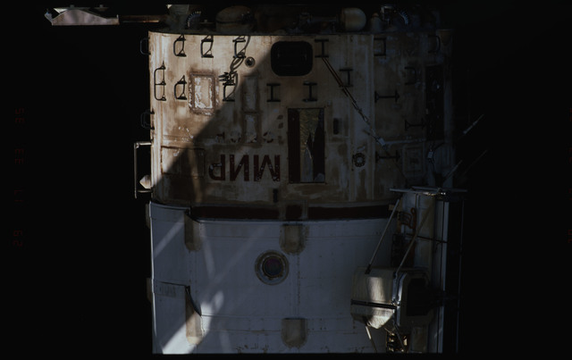 STS089-352-031 - STS-089 - DTO 1118 - Survey of the Mir Space Station