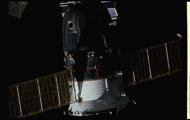 STS089-354-038 - STS-089 - DTO 1118 - Survey of the Mir Space Station