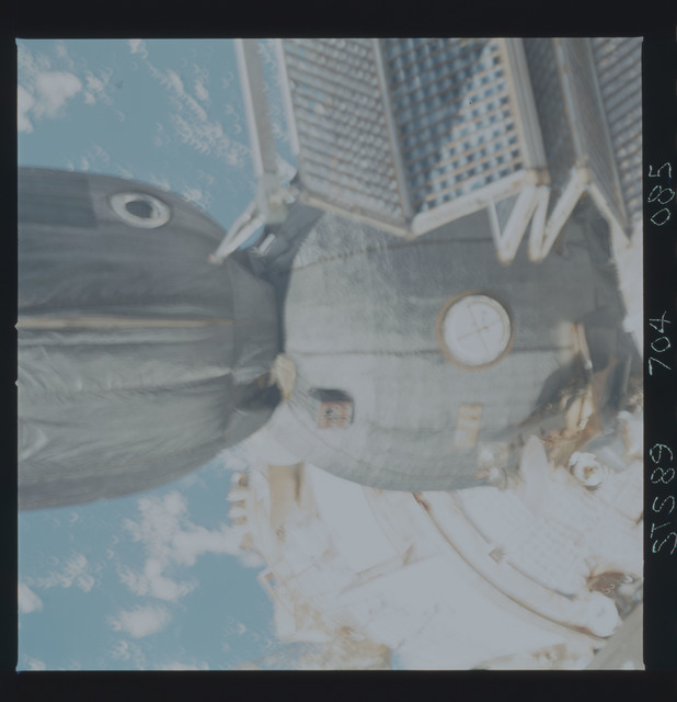 STS089-704-085 - STS-089 - DTO 1118 - Survey of the Mir Space Station