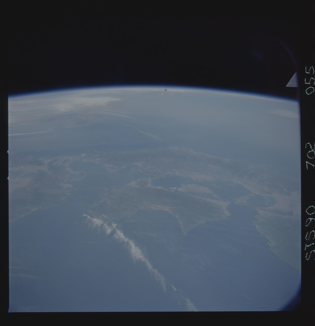 STS090-702-055 - STS-090 - Earth observations taken during STS-90 mission