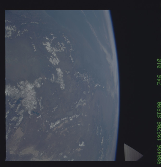 STS090-746-010 - STS-090 - Earth observations taken during STS-90 mission