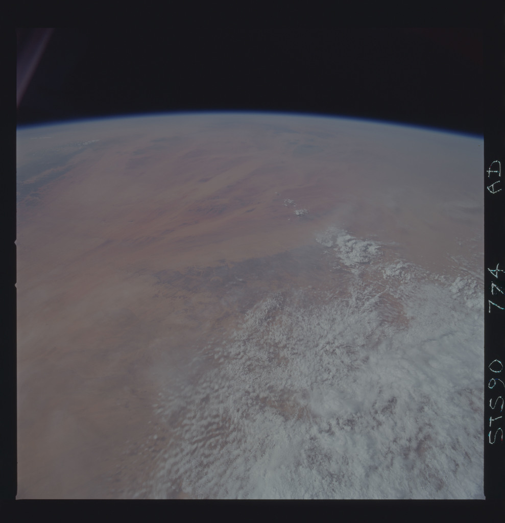 STS090-774-000AD - STS-090 - Earth observations taken during STS-90 mission