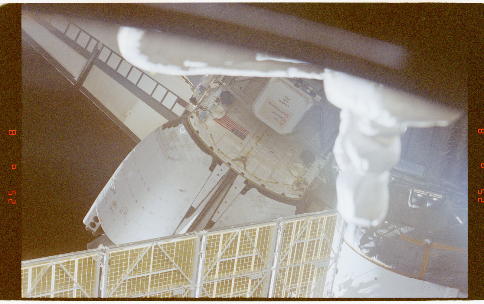 STS091-367-035 - STS-091 - AMS in payload bay viewed from Mir Space Station