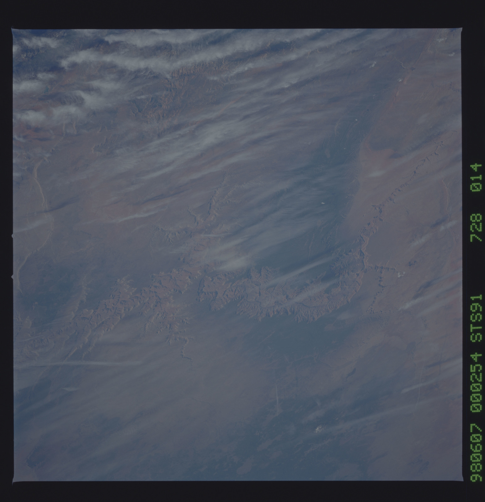 STS091-728-014 - STS-091 - Earth observations taken from orbiter Discovery during STS-91 mission