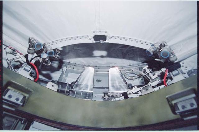 STS092-364-002 - STS-092 - Node 1/Unity zenith CBM
