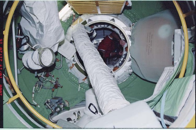 STS092-365-016 - STS-092 - Ventilation ducts in the FGB/Zarya module