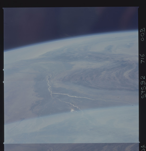 STS092-716-000B - STS-092 - STS-92 Earth observations