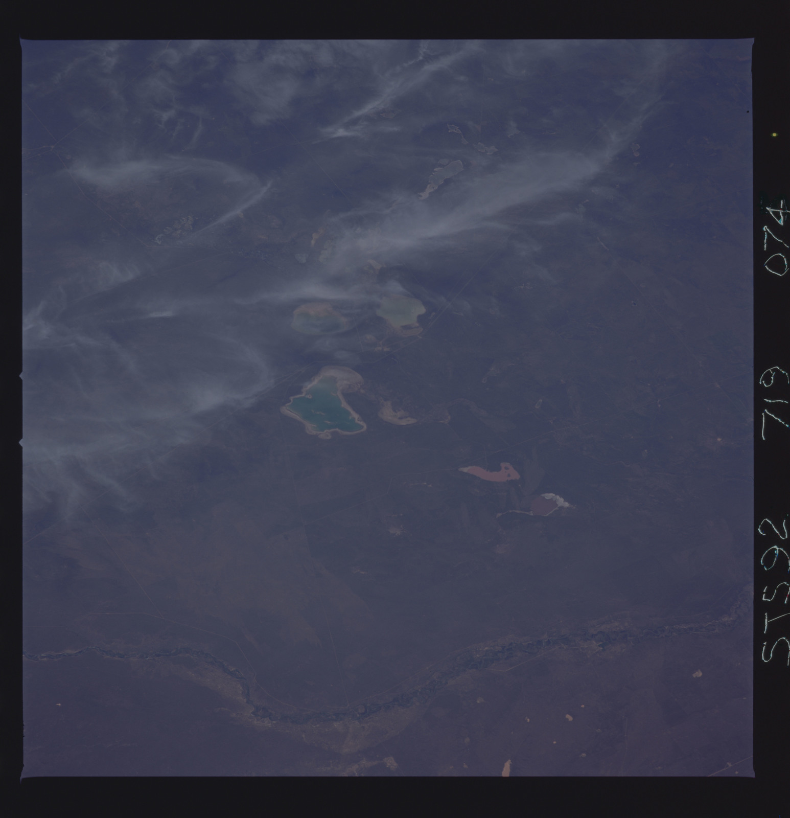 STS092-719-074 - STS-092 - STS-92 Earth observations