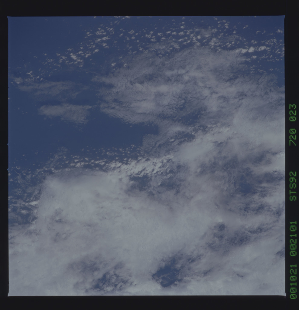 STS092-720-023 - STS-092 - STS-92 Earth observations