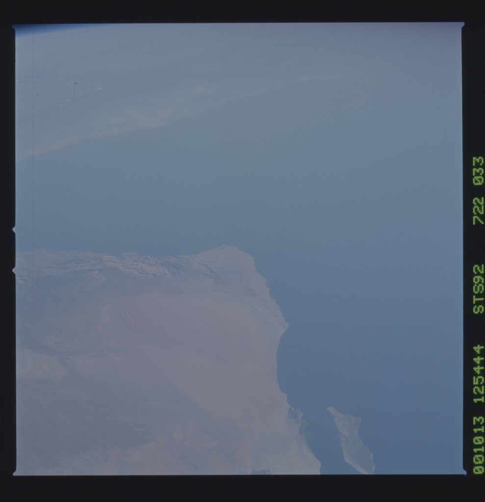 STS092-722-033 - STS-092 - STS-92 Earth observations