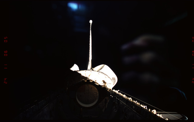 STS093-301-008 - STS-093 - View of the empty payload bay during the STS-93 mission