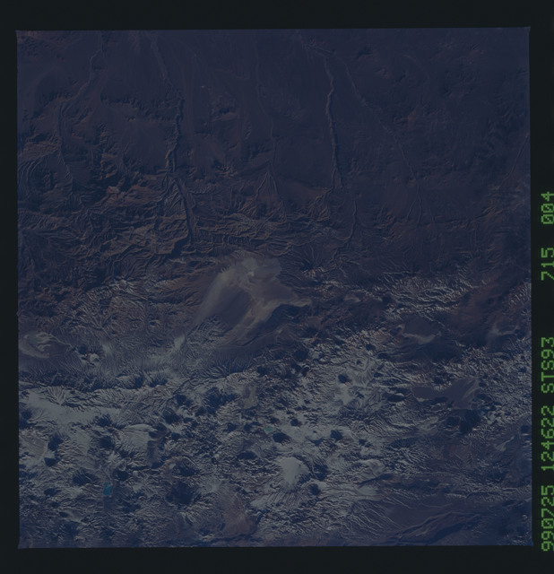 STS093-715-004 - STS-093 - Earth observations of the Andes Mts. taken from Columbia during STS-93 mission