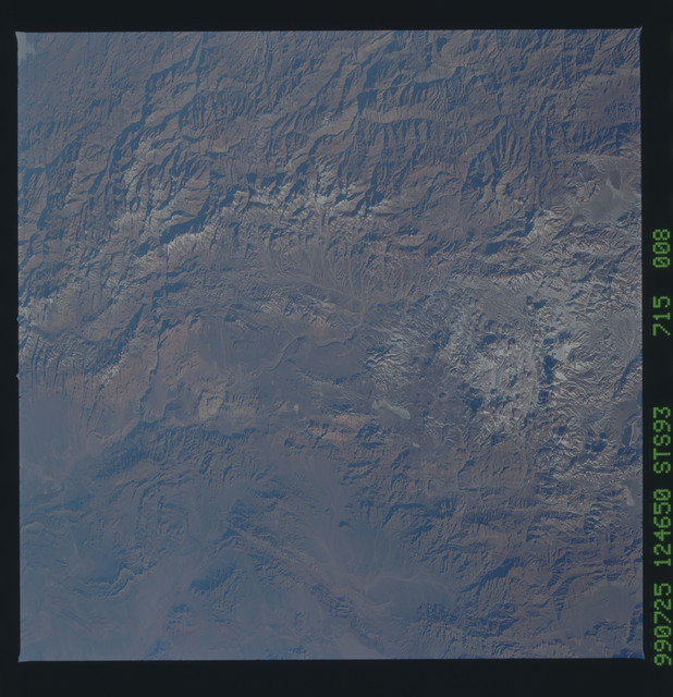 STS093-715-008 - STS-093 - Earth observations of the Andes Mts. taken from Columbia during STS-93 mission