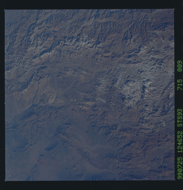 STS093-715-009 - STS-093 - Earth observations of the Andes Mts. taken from Columbia during STS-93 mission