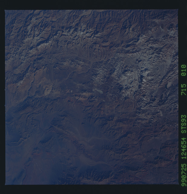 STS093-715-010 - STS-093 - Earth observations of the Andes Mts. taken from Columbia during STS-93 mission