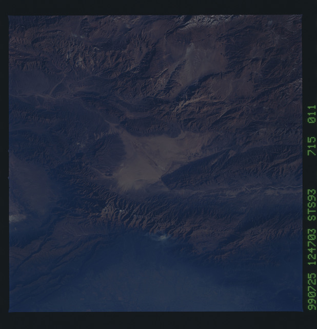 STS093-715-011 - STS-093 - Earth observations of the Andes Mts. taken from Columbia during STS-93 mission