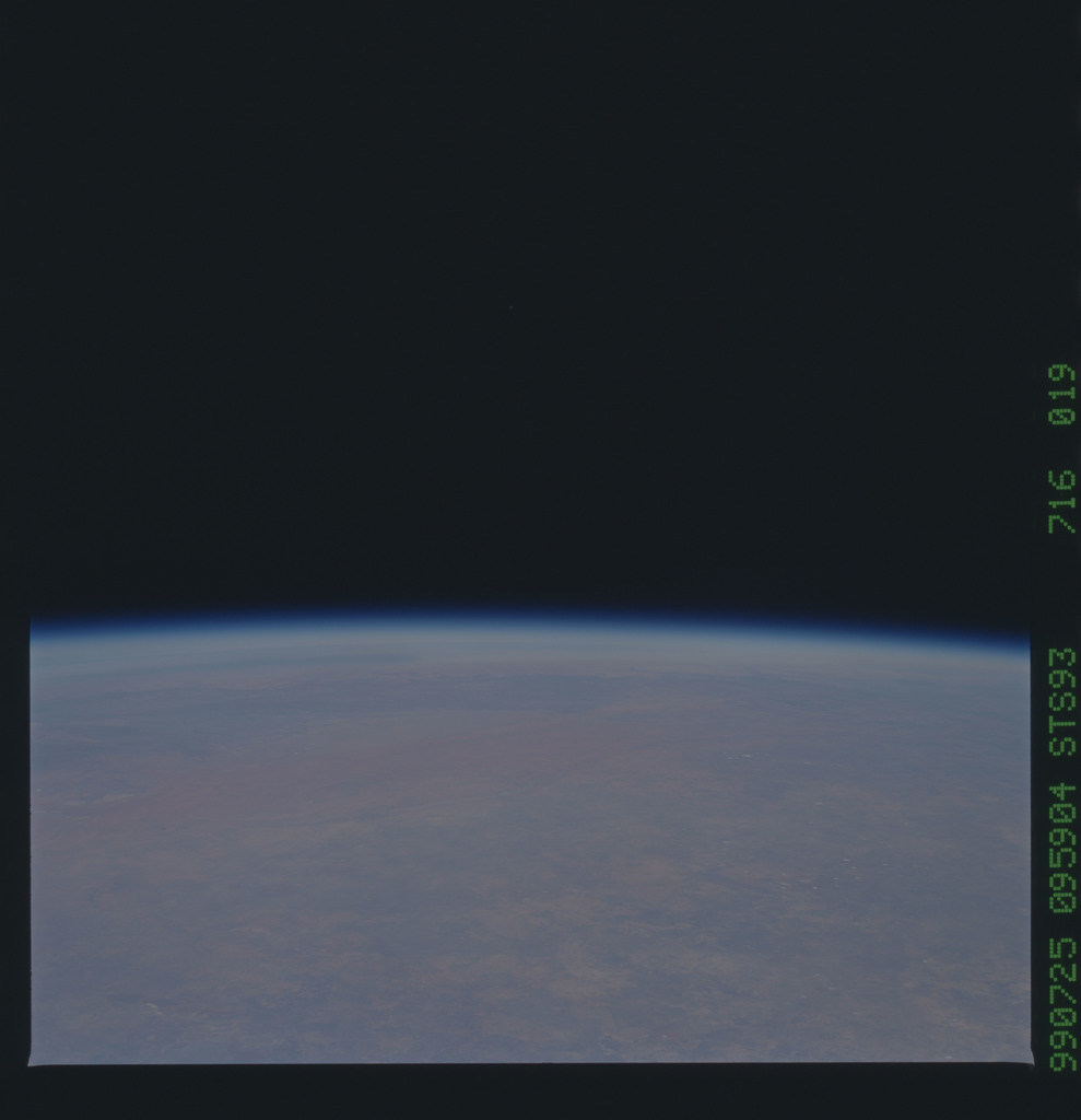 STS093-716-019 - STS-093 - Earth observations taken from Space Shuttle Columbia during STS-93 mission