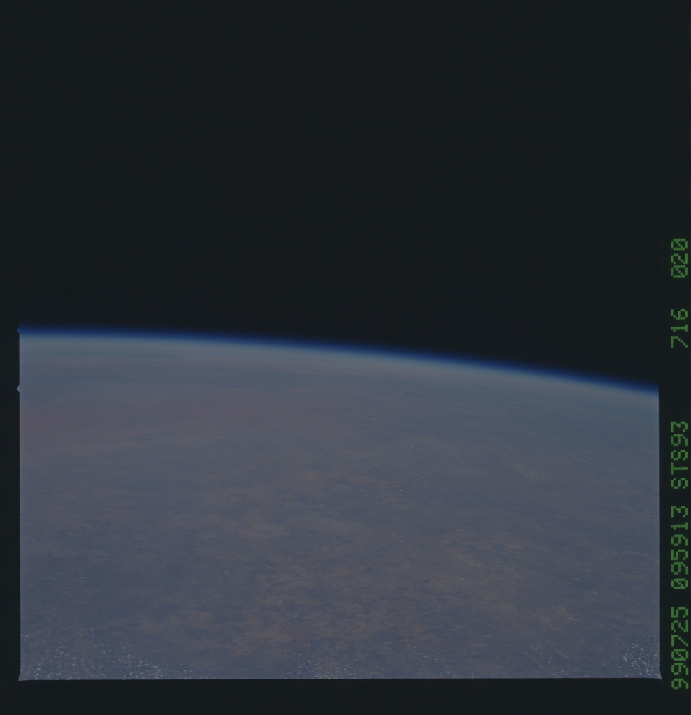 STS093-716-020 - STS-093 - Earth observations taken from Space Shuttle Columbia during STS-93 mission