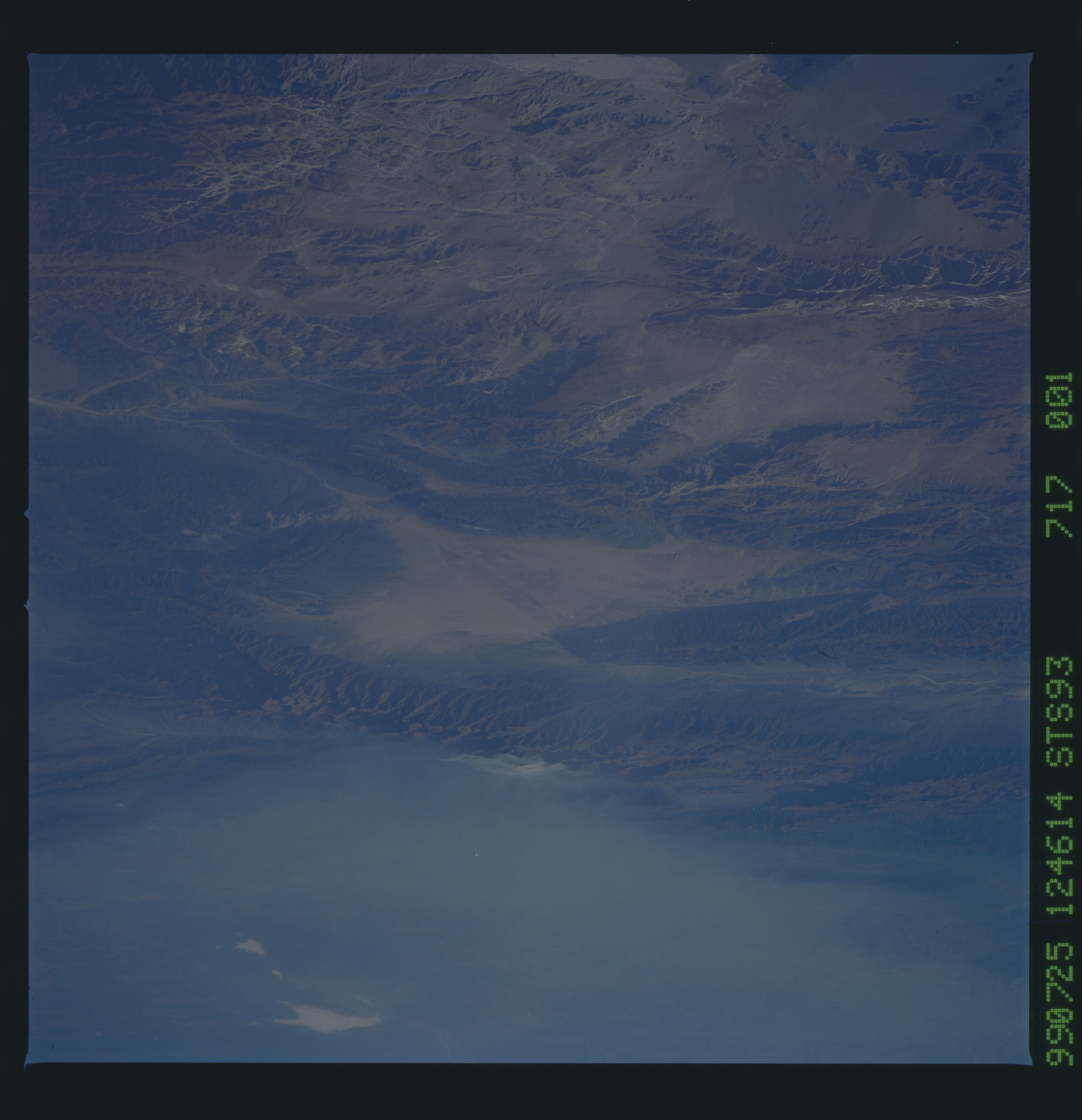 STS093-717-001 - STS-093 - Earth observations of the Andes Mts. taken from Columbia during STS-93 mission