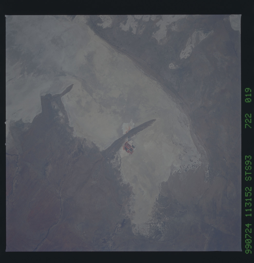STS093-722-019 - STS-093 - Earth observations of the Andes Mts. taken from Columbia during STS-93 mission