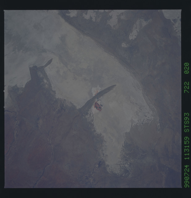 STS093-722-020 - STS-093 - Earth observations of the Andes Mts. taken from Columbia during STS-93 mission