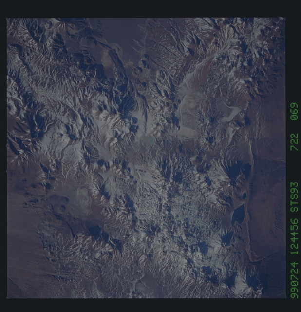 STS093-722-069 - STS-093 - Earth observations of the Andes Mts. taken from Columbia during STS-93 mission