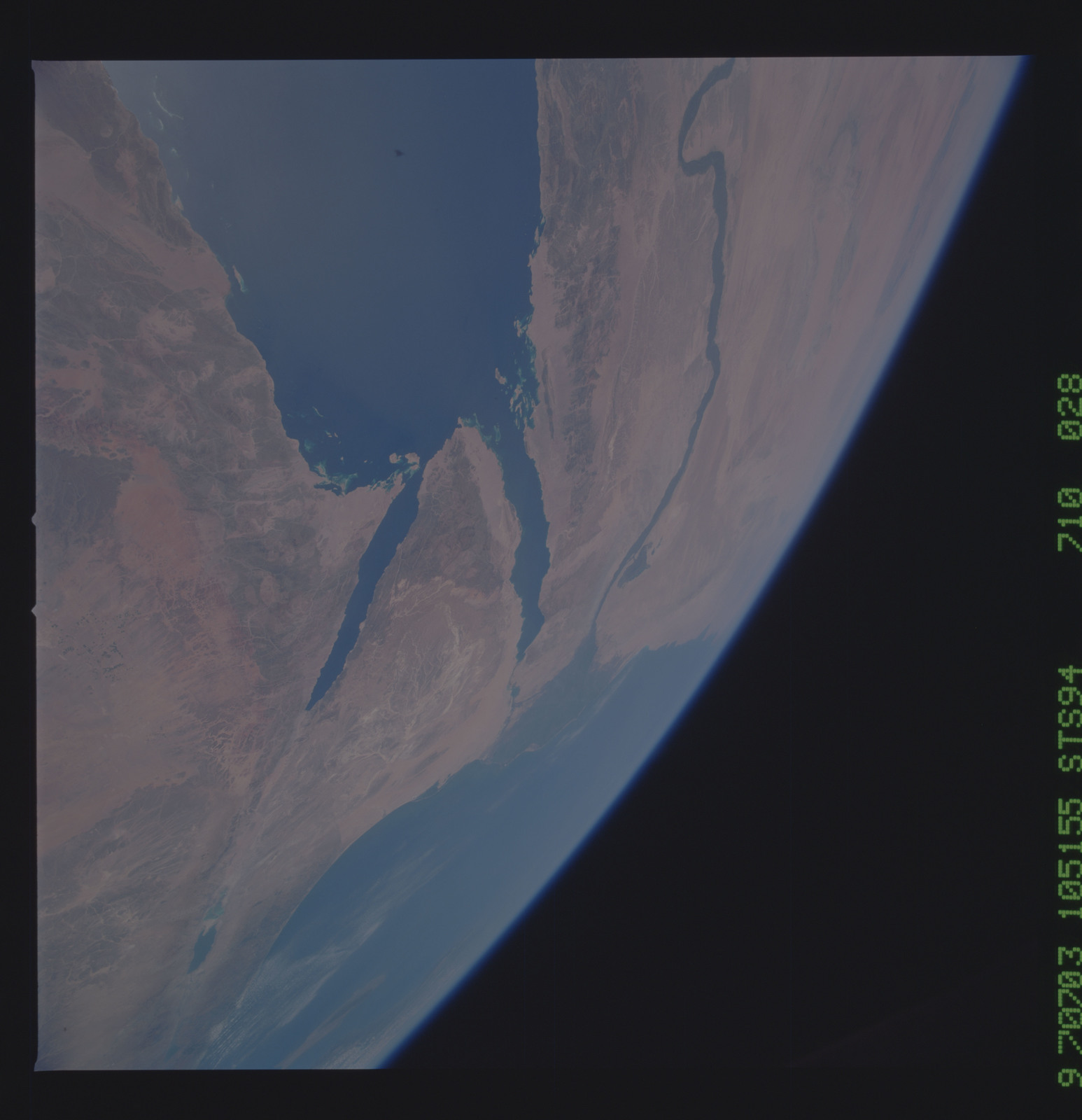 STS094-710-028 - STS-094 - Earth observations taken during STS-94 mission