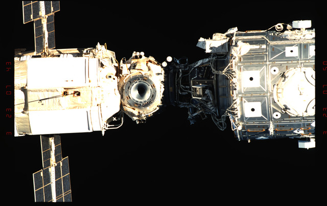 STS096-342-004 - STS-096 - View of the ISS taken during fly-around