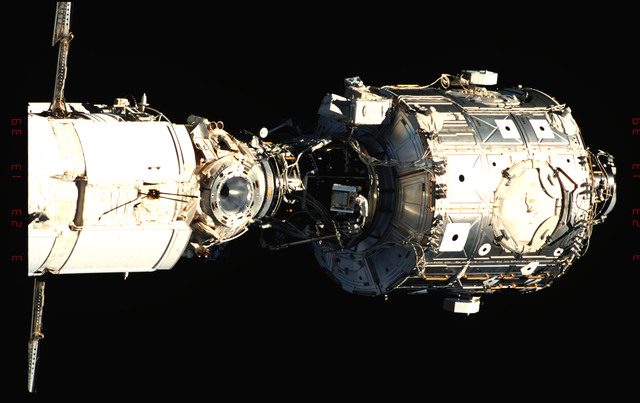 STS096-342-024 - STS-096 - View of the ISS taken during fly-around