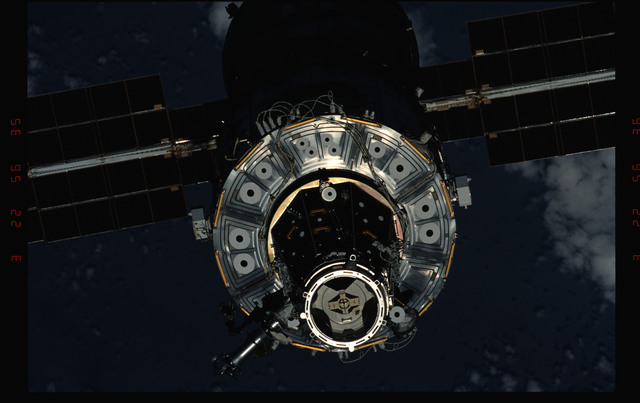 STS096-343-013 - STS-096 - View of the ISS taken during fly-around