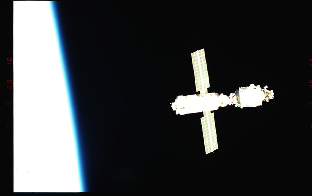 STS096-345-007 - STS-096 - View of the ISS taken during fly-around
