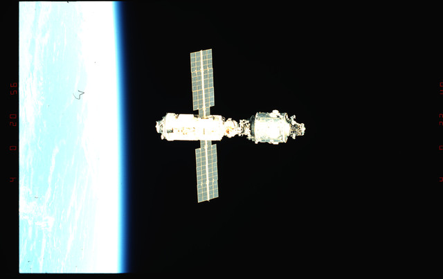 STS096-345-010 - STS-096 - View of the ISS taken during fly-around