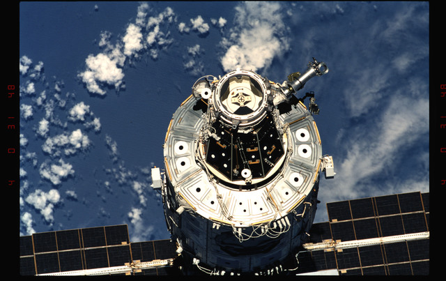 STS096-346-007 - STS-096 - View of the ISS taken during fly-around