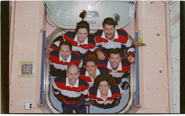 STS096-380-022 - STS-096 - STS-96 In-flight crew portrait in the Node 1/Unity module