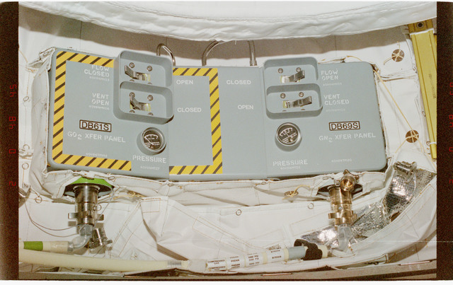 STS096-403-005 - STS-096 - Various views of ventilation hardware and hatches