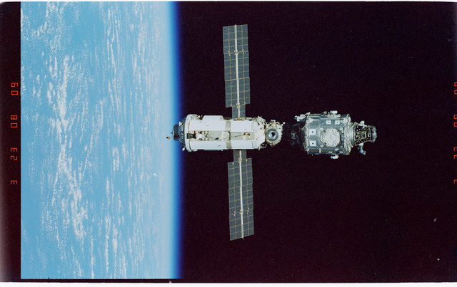 STS096-406-006 - STS-096 - Overview of the ISS during fly-around