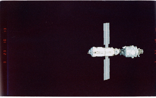 STS096-406-027 - STS-096 - Overview of the ISS during fly-around
