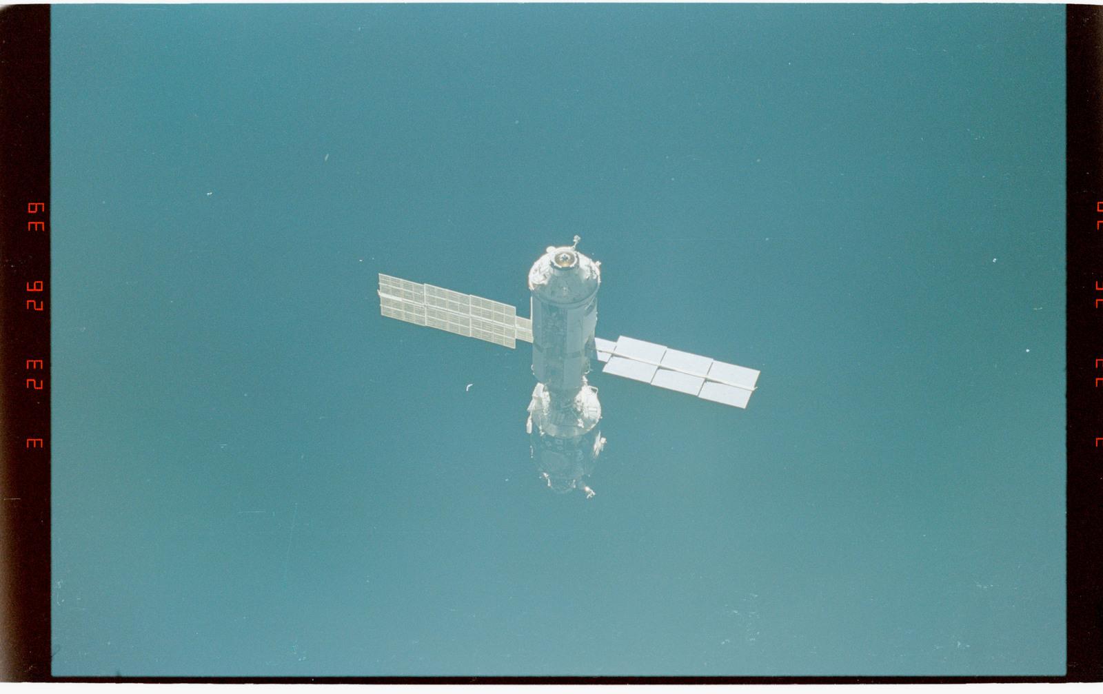 STS096-411-018 - STS-096 - ISS views taken during flyaround