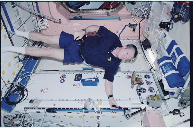 STS098-355-011 - STS-098 - Shepherd in Node 1