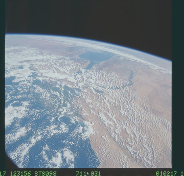 STS098-711A-031 - STS-098 - Earth observations taken during STS-98 mission